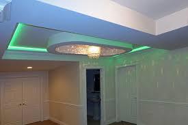 interior commercial kitchen lighting custom. Basement-Ceiling-Green-Light Interior Commercial Kitchen Lighting Custom ,