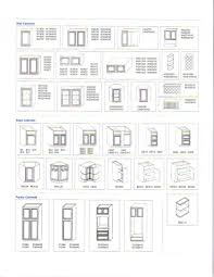 Of Kitchen Kitchen Cabinets Sizes Common Detail Specs Pinterest Small