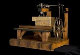 History Of Sewing Machine Timeline