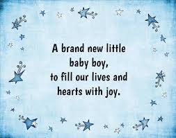 Baby Boy Quotes To Fill Your Heart With Joy Text Image