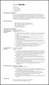 Marketing Resumes Templates Best Of Free Contemporary Marketing Resume Templates ResumeNow