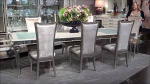 Bel Air Park Dining Room Set By Michael Amini  Jane Seymour - Aico dining room set