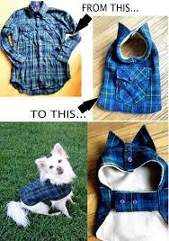 diy pet coat adorable diy dog clothes and coats for your furry cutie