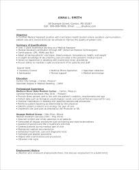 Sample Medical Assistant Resume - 7+ Examples in PDF