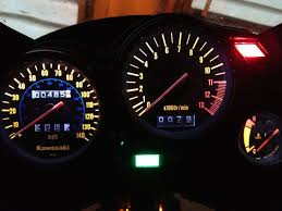 help me a gauge cluster ninjette org i prefer an analog tach at the very least i d want a digital tach a sweeping bar a big locational indicator of the rpms