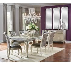 Hefner Silver 5pc Dining Set