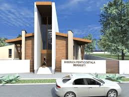 Berbesti Romania Pentecostal Church Interior And Exterior Design - Interior exterior designs