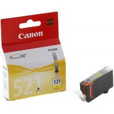 <b>Картридж Canon CLI-521Y</b> желтый