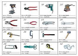 hand tool names. name: hand tool names i