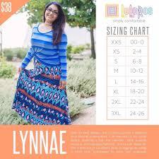 Lularoe Size Chart Lynnae Size Chart In 2019 Lularoe Size Chart Lularoe