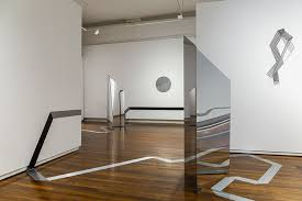 nadia odlum foreground the distance between two way mirror acrylic steel