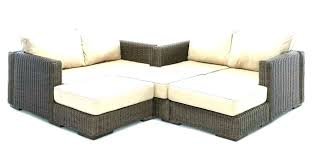 outdoor couch cover l sectional cover wicker sectionals outdoor furniture sectional small l shaped couch u