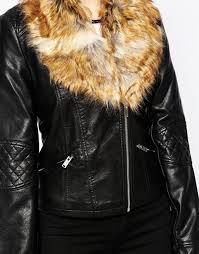 vero moda lala fur trim faux leather biker jacket black women jackets vero moda dresses