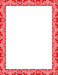Red Certificate Border Clip Art Page Border And Vector