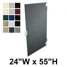 Bathroom Stall Partitions Amazing Hadrian Bathroom Stall Door Solid Plastic 48 X 48 Includes