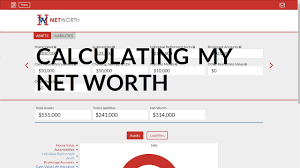 Net Worth Calculator How To Calculate Your Net Worth Net Worth Calculator