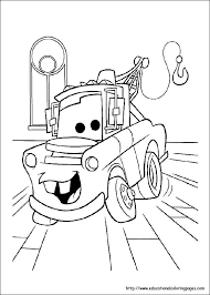 Coloring Pages For Kids Disney Cars Coloring Pages