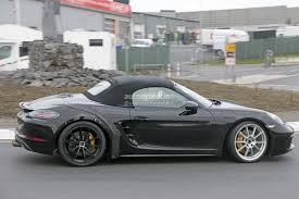 2018 porsche boxster 718 gts. beautiful 2018 2018 porsche 718 boxster gts spied and porsche boxster gts s