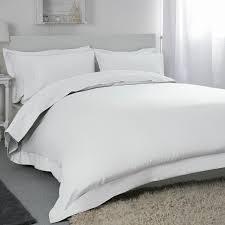 belledorm 400tc egyptian cotton king duvet cover white