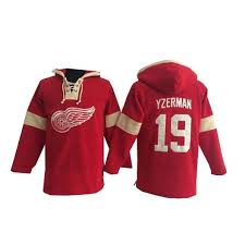 Detroit Jersey Red Old Wings