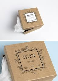 free product mockups cardboard box psd mockup graphicburger