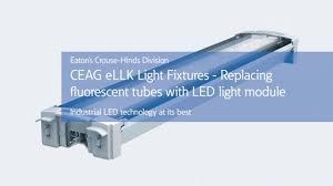 Ceag Led Lighting Retrofitting Ceag Ellk Fluorescent Fixtures To Led Technology
