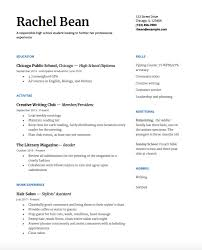 resume examples high school student high school resume a step by step guide