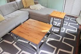 diy apartment furniture. Modern Coffee Table And Matching End Tables Diy Apartment Furniture R