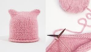 Pussyhat Pattern Inspiration Katknits Pussy Hat Free Pattern Knitting WOOL AND THE GANG