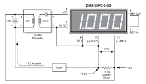 direct current ammeters eeweb community basic ammeter circuit shunt in high side