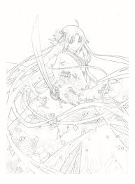 24pages Sword Online One Piece Naruto Sailor Moon Comic Painting Drawing Book Coloring Pictures Cosplay Props Artbook Set Gift