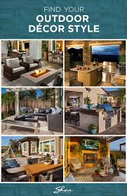Find Your Home Decor Style 17 Best Images About Patio Ideas On Pinterest Decks Fire Pits
