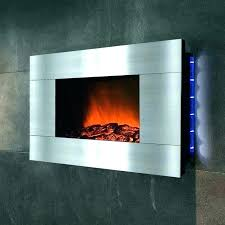 electric wall mounted fireplace touchstone 50 onyx electric wall mounted fireplace reviews