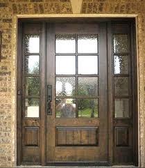mahogany 8 lite entry doort w sidelites ex 1342