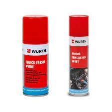 Würth Araç İçi Tazeleme Spreyi (Quıck Fresh Pure) 100 ml + Fiyatı
