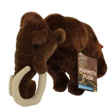 adventure planet plush wooly mammoth 10 inch bbtoy toys plush trading cards action figures games rel