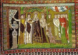 Изобразительное искусство Италии Википедия Императрица Феодора мозаика в Сан Витале