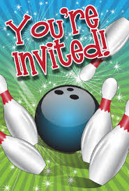 bowling invitation templates bowling invitation template