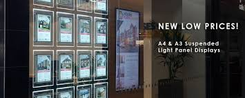 Estate Agent Display Stands