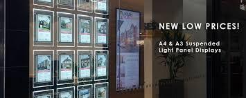 Estate Agent Display Stands