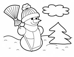 Small Picture Snowmen At Night Coloring PagesAtPrintable Coloring Pages Free