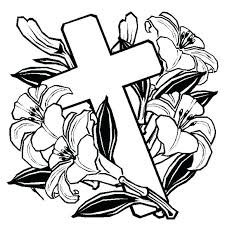 Cross Coloring Pages Printable Caionascimentome