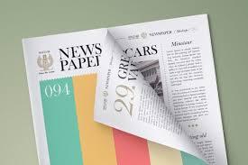 Free Newspaper Psd Mockup Download Free Newspaper Psd On Behance