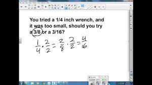 Wrench Sizes Video