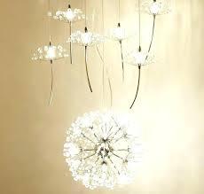 flower chandelier ikea orchid chandelier ideas