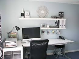 home office makeovers. Interior : Home Office Makeovers With Wall Shelves Home Office Makeovers