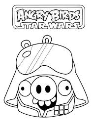 Small Picture coloring page Angry Birds Star Wars star wars pig Fun with