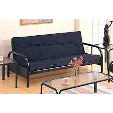 large picture of coaster furniture casual metal frame futon mainstays black assembly instructions