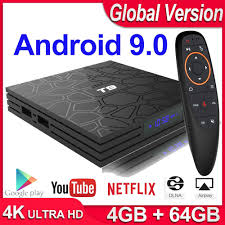 Tv Box Android 9.0 4gb Ram 64gb/32gb Rom 1080p H.265 Youtube