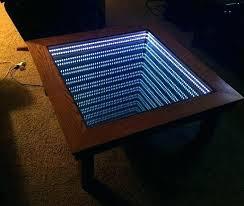 infinity mirror coffee table infinity coffee table infinity coffee table photo 3 of 9 infinity mirror